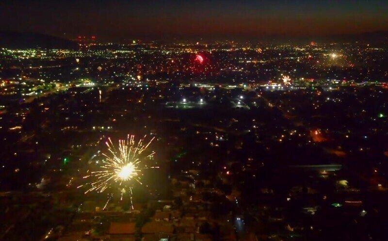 В Лос-Анджелесе жители проигнорировали запрет на запуск фейерверков в День независимости