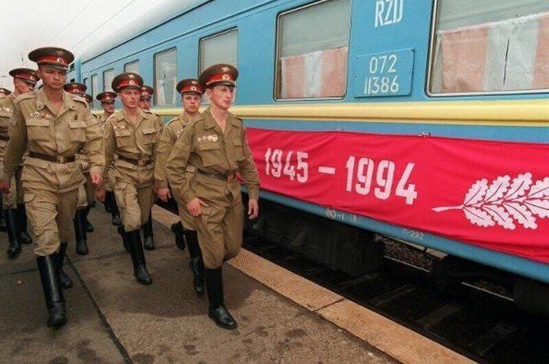 Группа Советских Войск в Германии. ГСВГ