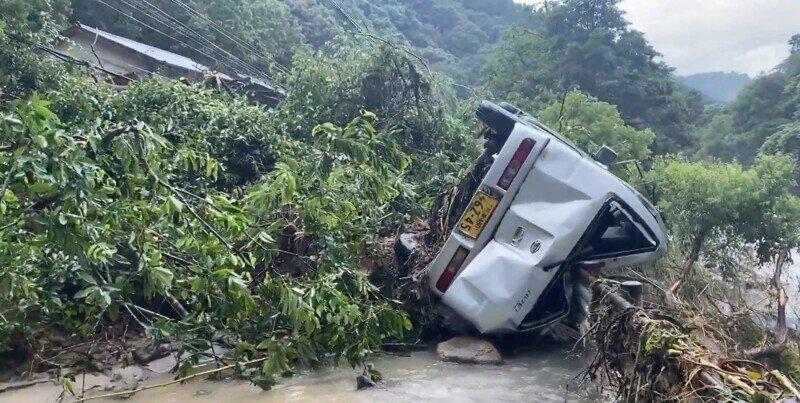 Крупнейшее наводнение в Японии и Китае