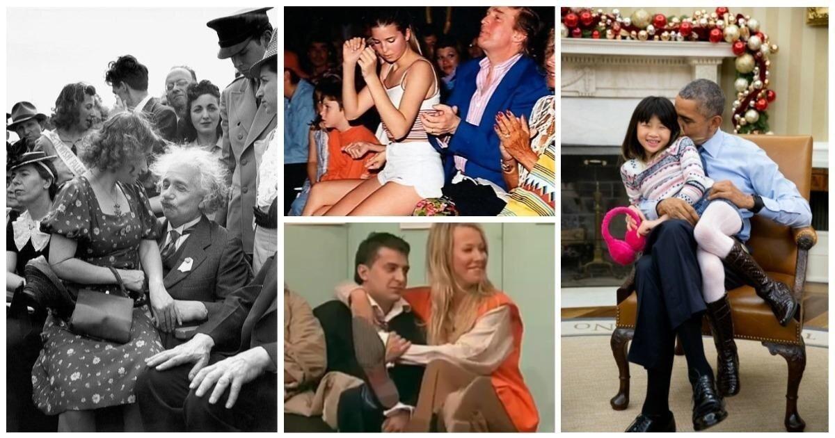Звездные посиделки на коленях: 16 знаменитостей, застуканных в милой позе