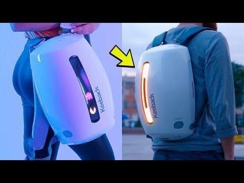 Футуристичные рюкзаки следующего уровня