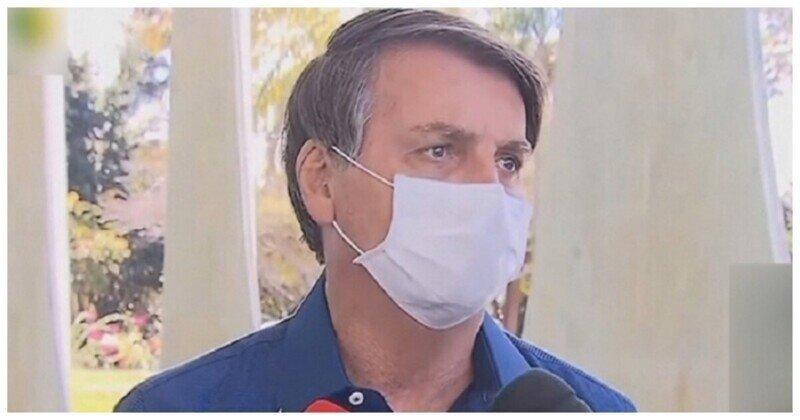Журналисты хотят засудить президента Бразилии из-за риска заражения коронавирусом