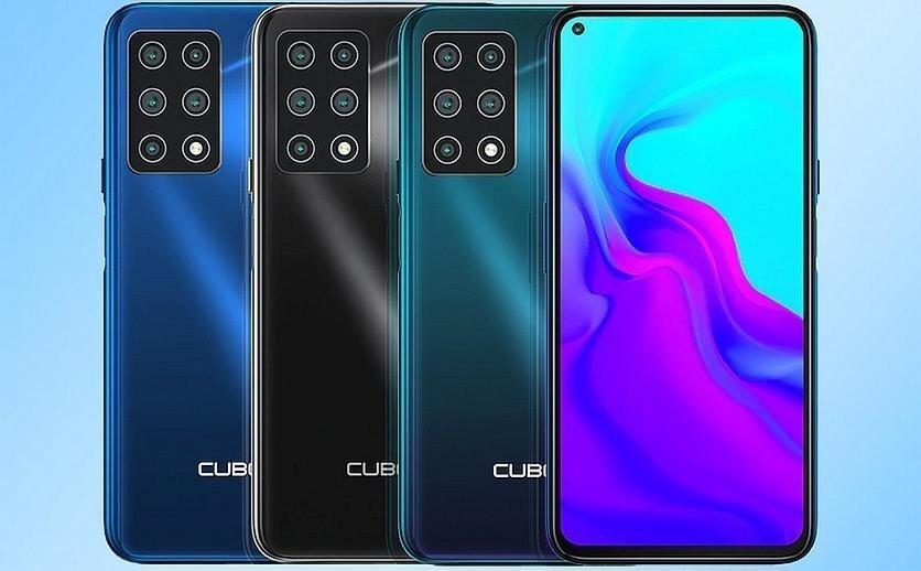 Cubot X30: смартфон с пятью камерами и NFC за $139.99