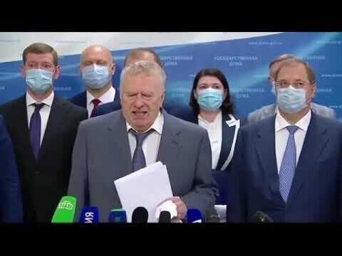 Жириновский пригрозил выходом ЛДПР из Госдумы из-за задержания Фургала