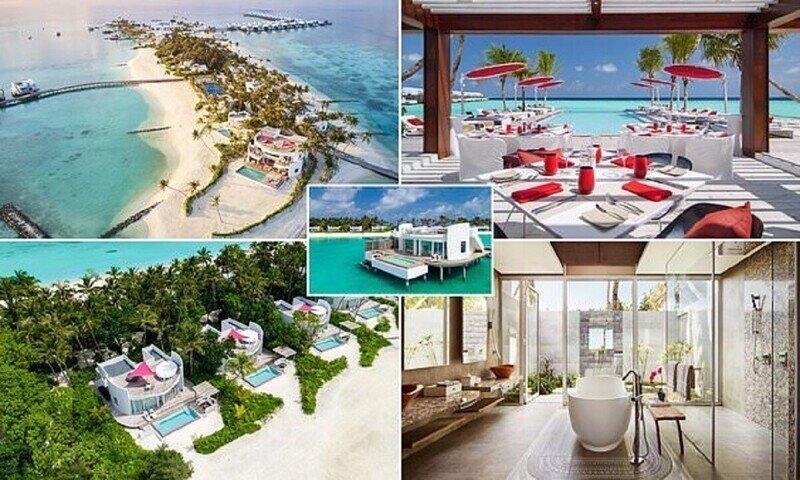 На Мальдивах построили самый гламурный отель