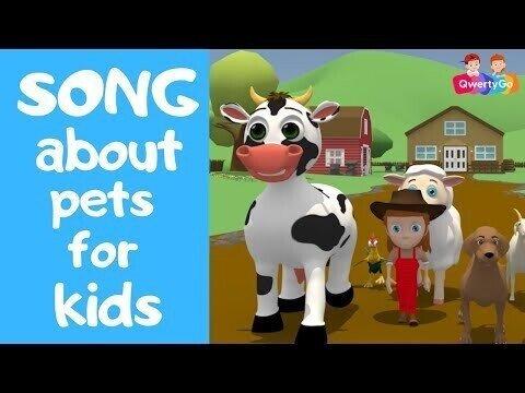 Учим названия домашних животных на английском языке!