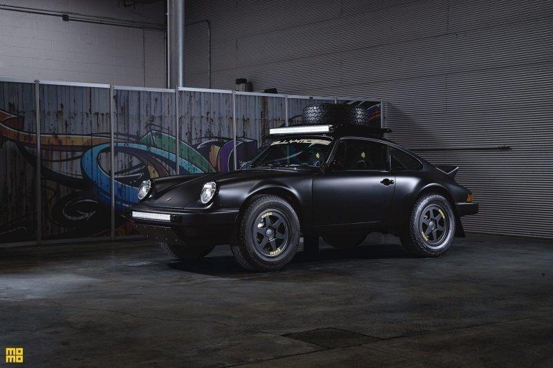Уникальный и очень дорогой внедорожный Porsche 1984 года