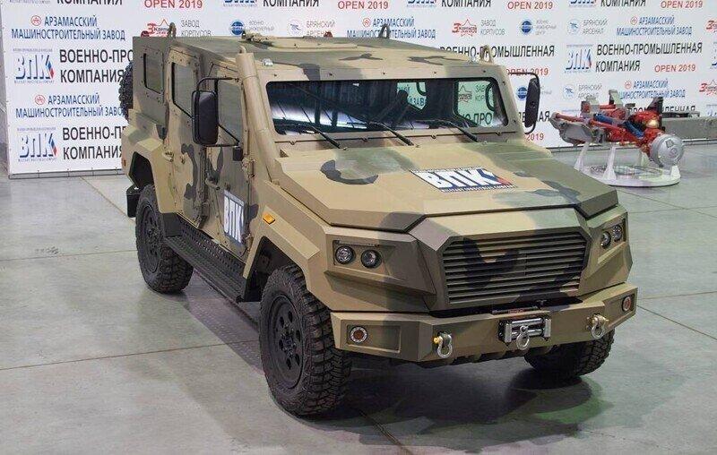 В РФ создан новый броневик «Стрела»