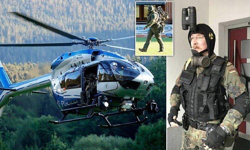 Немецкая полиция охотится за местным Рембо
