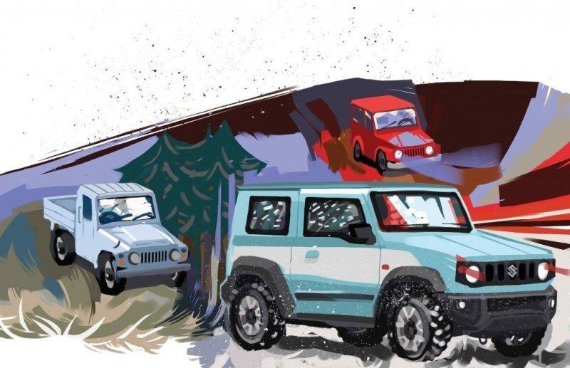 Самые маленькие вездеходы: подлинная история внедорожников Suzuki