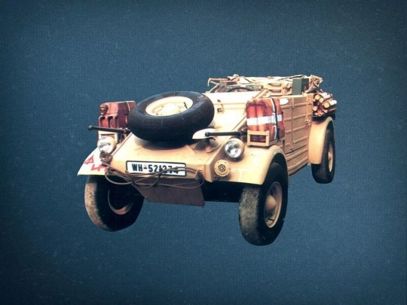 Кюбельвагены — автомобили германской армии времен Второй Мировой войны