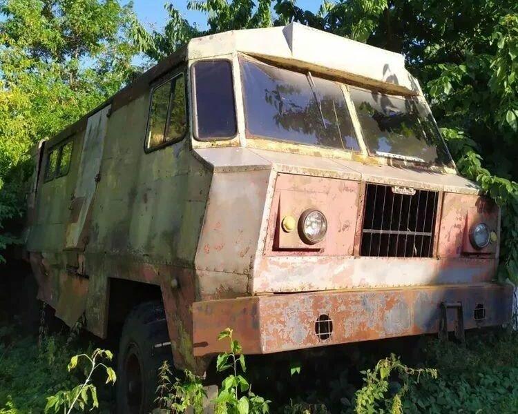 Уникальный автомобиль КрАЗ для геологов