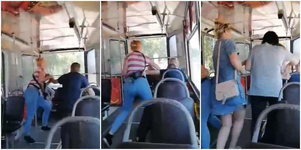 В Кузбассе пассажиры с кондуктором «успокоили» пьяного дебошира
