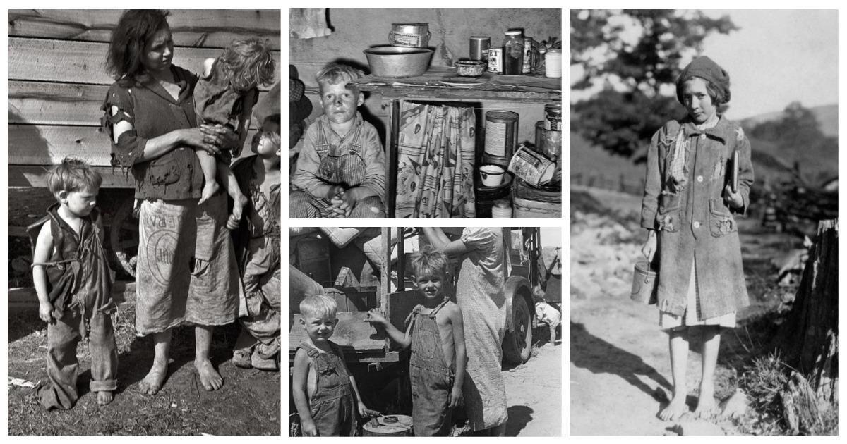 Америка в бедности: 25 портретов Великой Депрессии