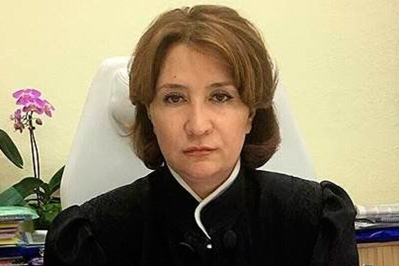 Лишенная статуса судьи Хахалева отчислена изштата Краснодарского краевого суда