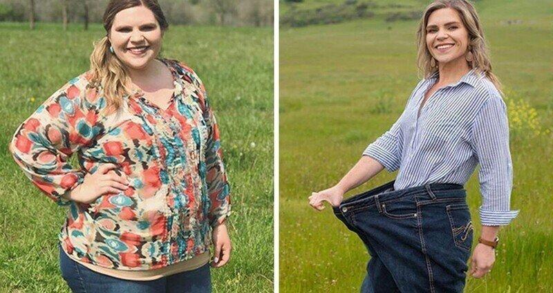 Женщина похудела за год на 65 кг, следуя пяти простым правилам