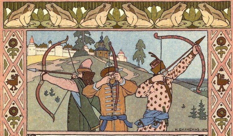 Какие русские народные сказки на самом деле английские?