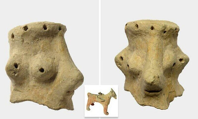 В Израиле нашли статуэтки, которые могут быть изображением бога Яхве