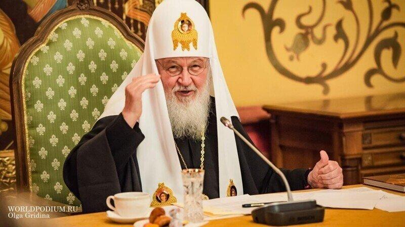 Патриарх рассказал о «миллиардах»