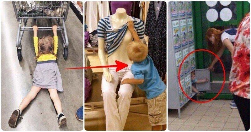 16 детских выходок в магазине, которые продавцы запомнят надолго