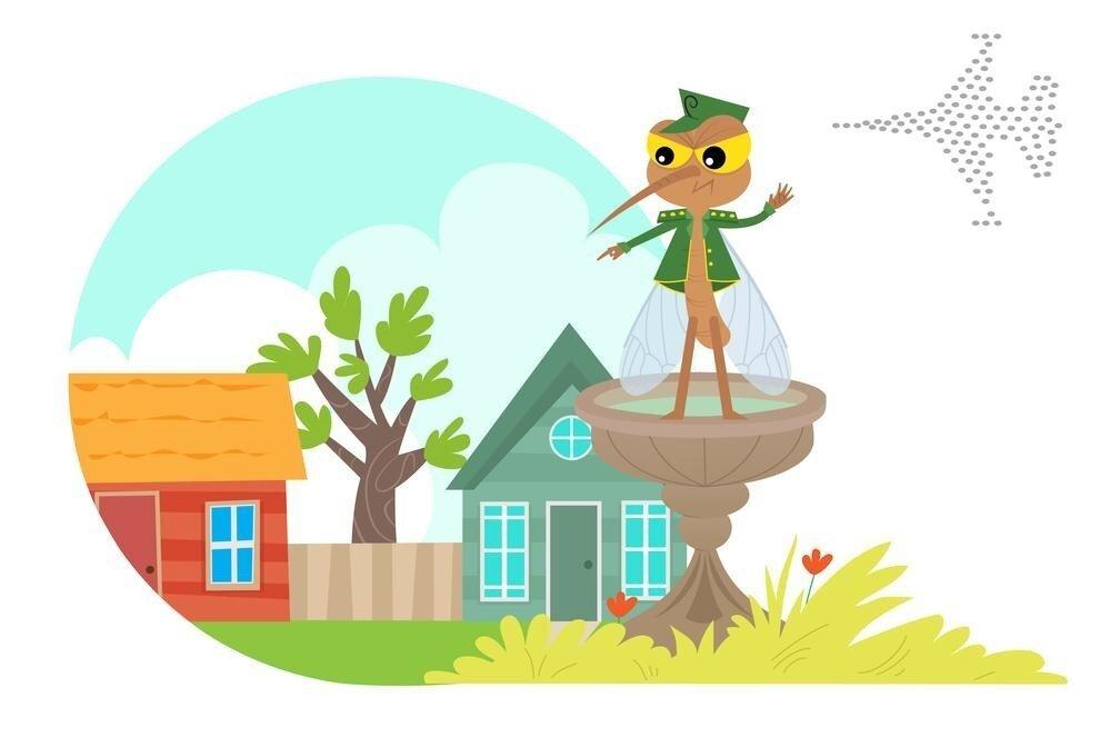 Комариный писк, жара, июль: чем жужжат комары, и почему они это делают?