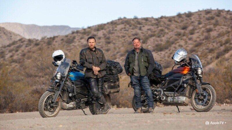 МакГрегор и Бурман проедут 21 тысячу километров на EV мотоциклах
