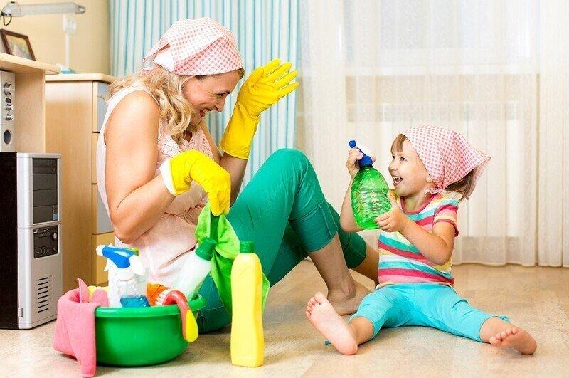 Что должен делать ребенок по дому