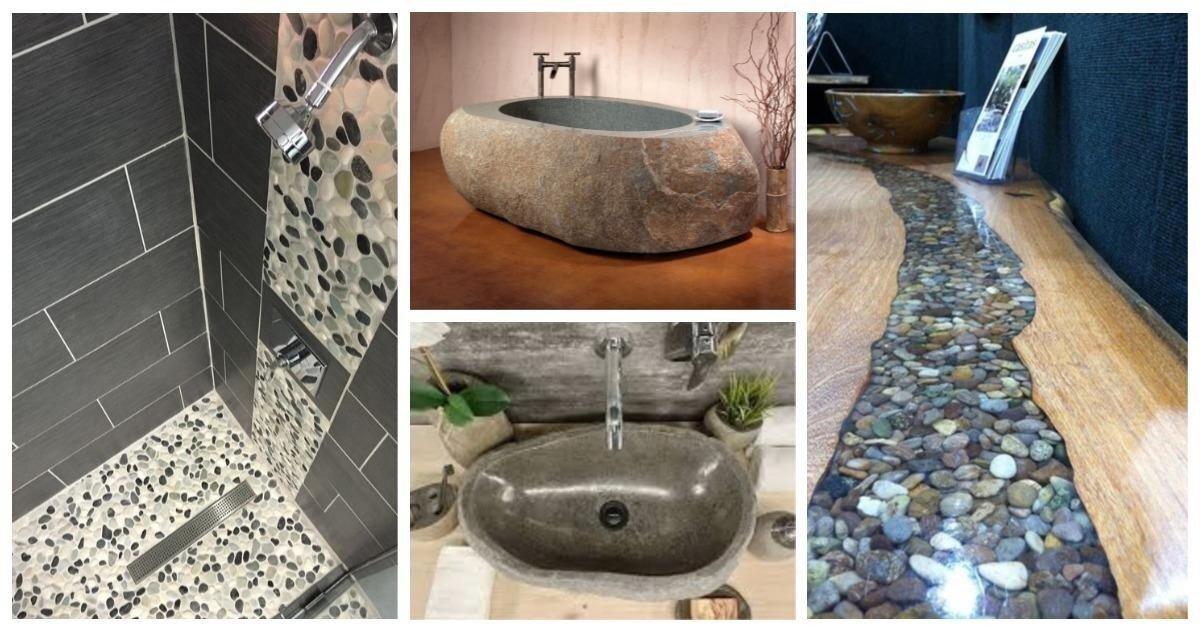 Каменное чудо: 20 креативных применений обычных булыжников