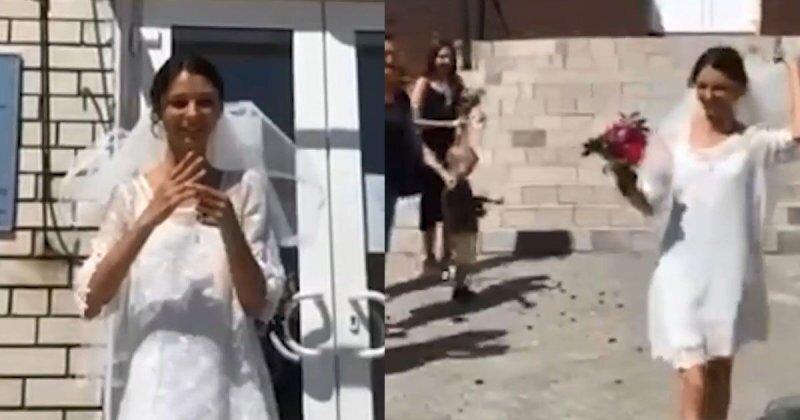 Свадьба сильной и независимой женщины! В Саратовской области девушка вышла замуж сама за себя
