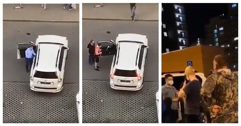 Единение москвичей: люди не давали пьяному мужчине сесть за руль в течение 4 часов