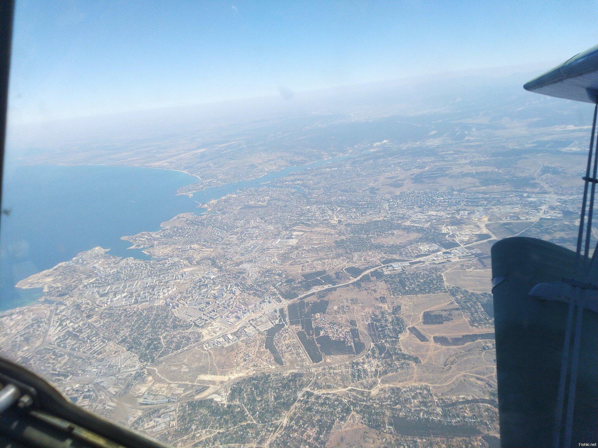 Севастополь с высоты 25