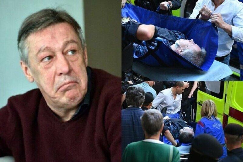 Инсульта не было: предварительный диагноз Ефремова не подтвердился