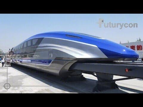 Китайский Maglev разгоняется до 600 км/ч