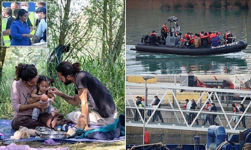 Мигранты штурмуют Британию