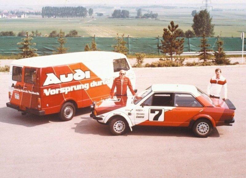 40 лет приводу Quattro: от энтузиазма до больших побед