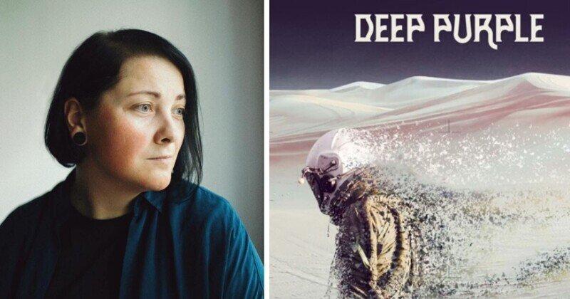 Москвичка обнаружила свое фото на обложке нового альбома Deep Purple