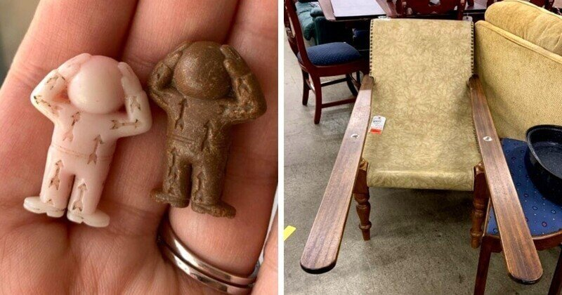 «Что это за штука?»: 17 случаев, когда люди нашли таинственные вещи