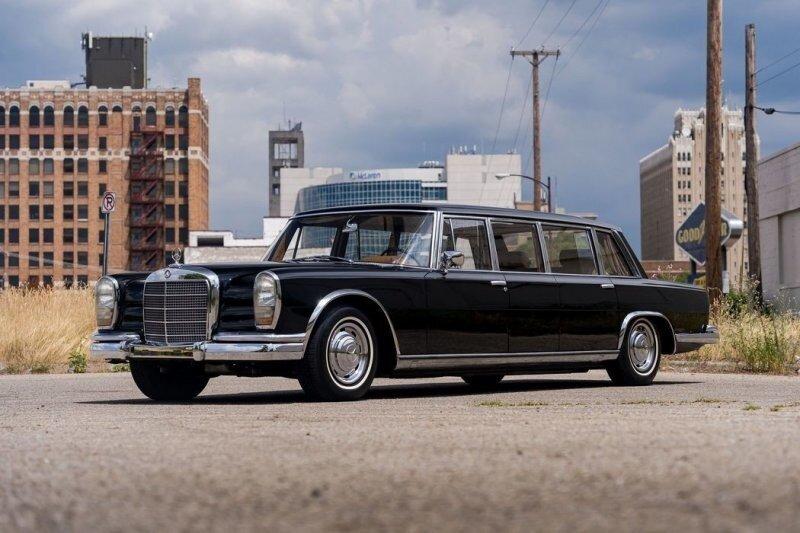 Mercedes-Benz 600 LWB Pullman, принадлежавший министру иностранных дел Китая