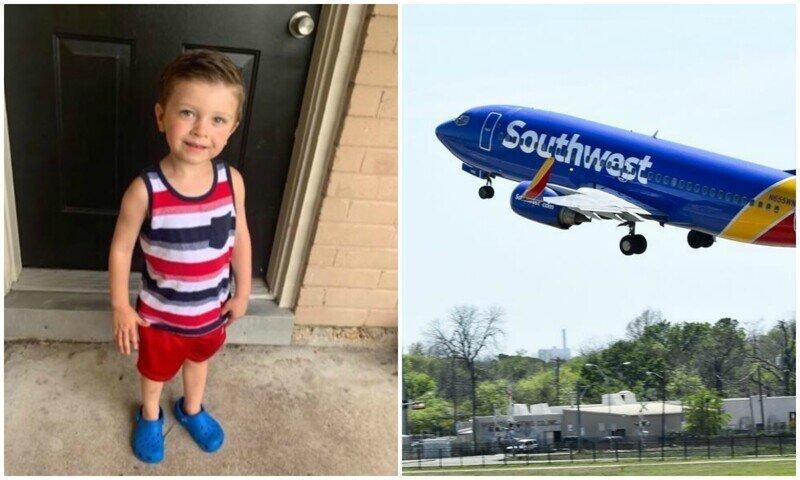 Авиакомпания сняла с рейса 3-летнего мальчика с аутизмом из-за маски для лица