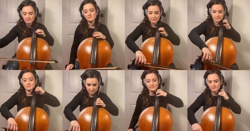 «Утиные истории» в исполнении талантливой виолончелистки