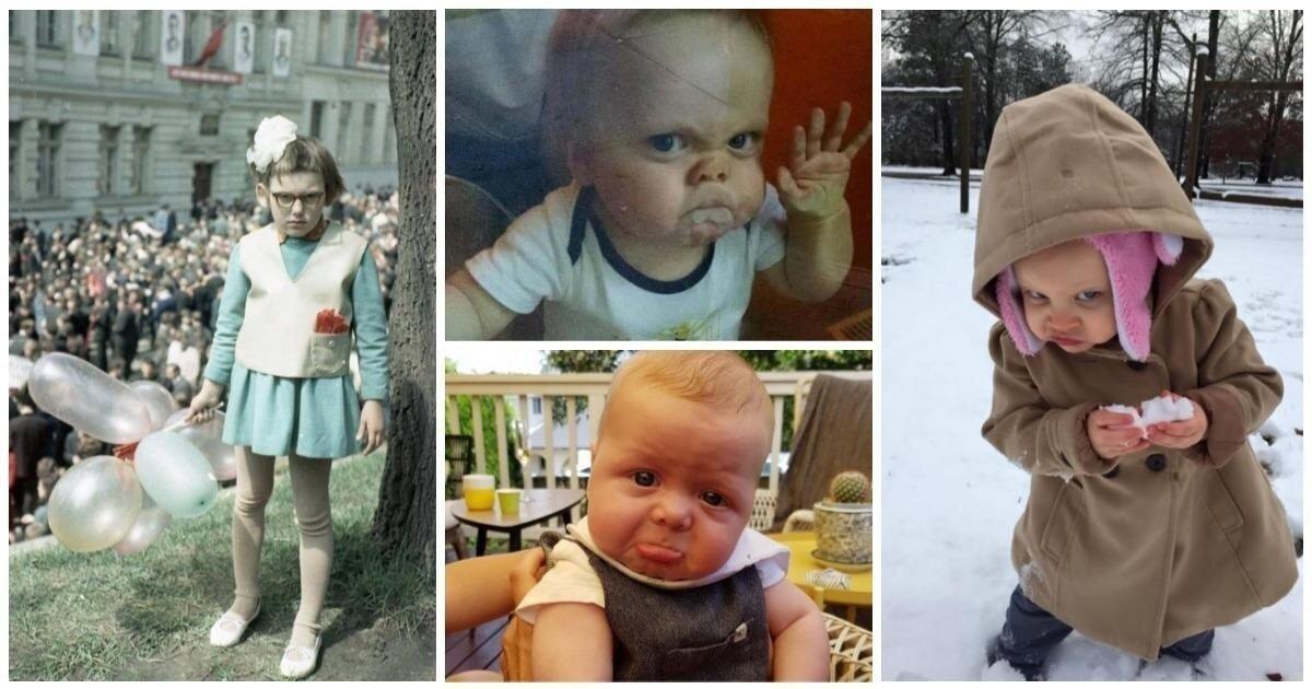 Дети, лица которых просто обязаны стать самыми популярными мемами