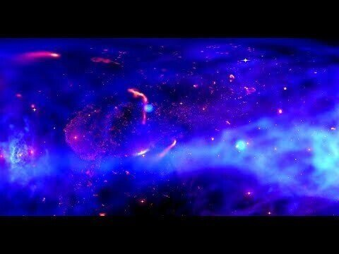 Панорамная визуализация NASA из центра Млечного Пути