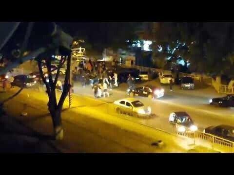 В Энгельсе кавказцы заблокировали дорогу автобусу и устроили массовую драку