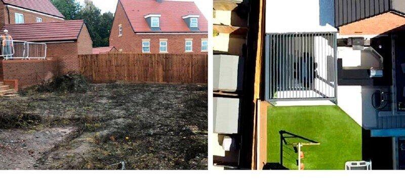 Как превратить заброшенный задний двор в шикарную лаунж-зону