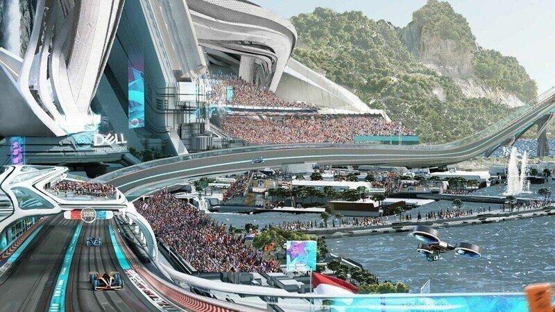 Formula 1 в 2050 году. Какой ее видят в McLaren