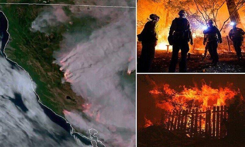 Калифорния горит