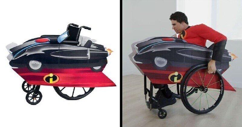 Компания Disney выпустила в продажу костюмы для колясочников