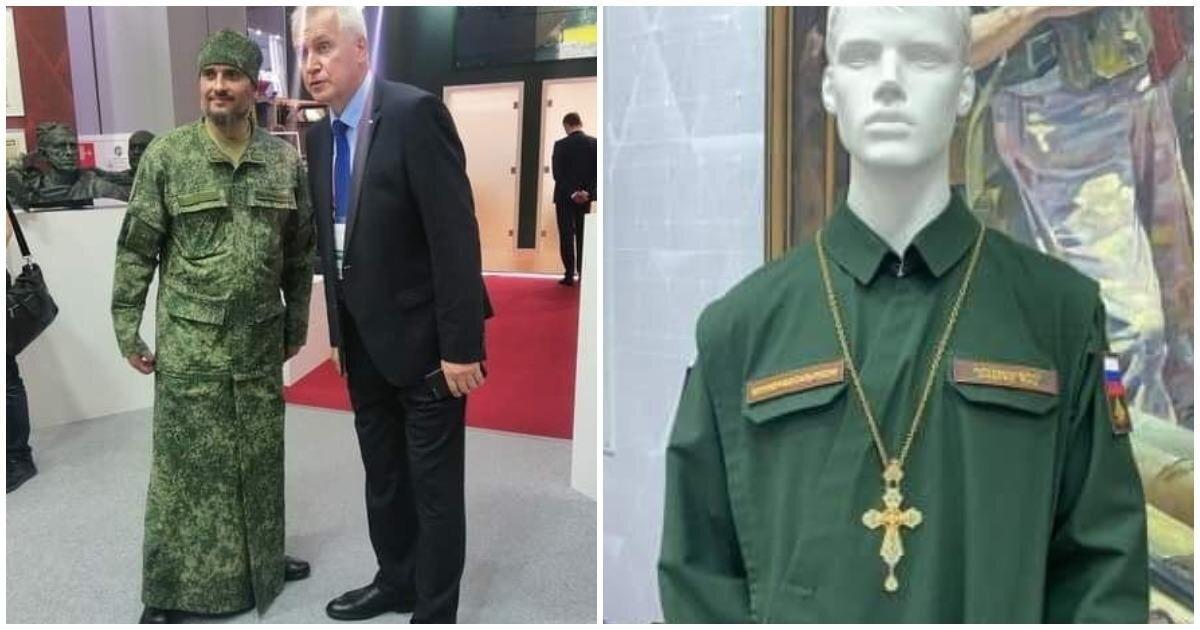 """На форуме """"Армия-2020"""" представили камуфляжные рясы и свечи """"воинские восковые"""""""
