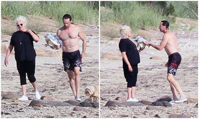 Вот как нужно выглядеть в 51 год: Хью Джекман показал отличную форму на пляже