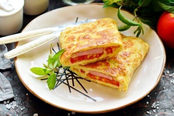 Лаваш + яйца + начинка = нереально вкусный завтрак за 10 минут (делаю так вместо омлета)